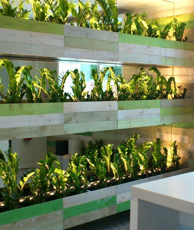 Custom Wall Planters