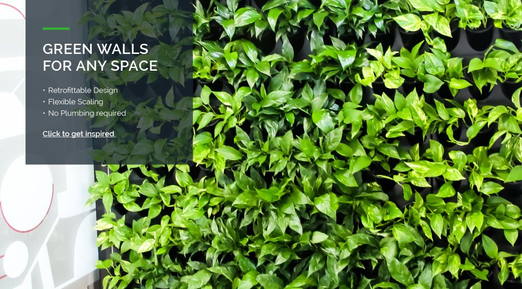 Frenchams Modular Green Wall