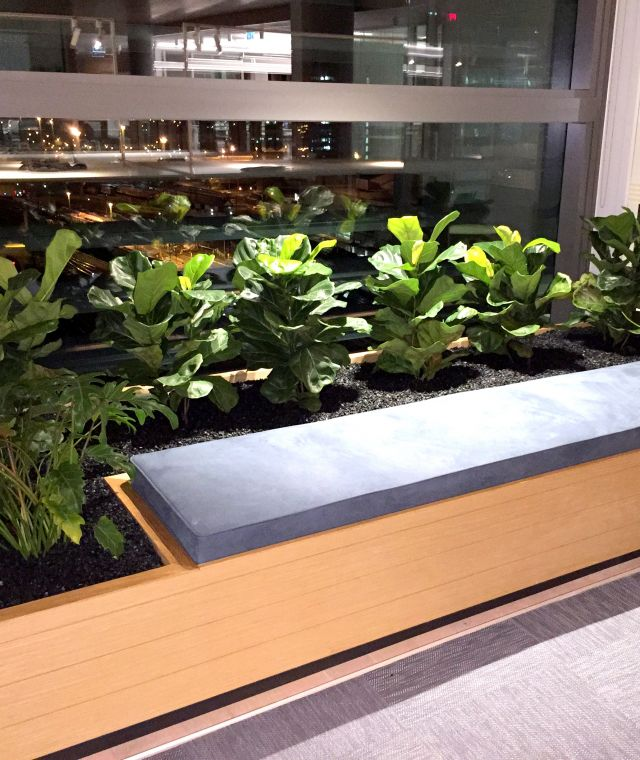 Seating Planter Joinery Unit