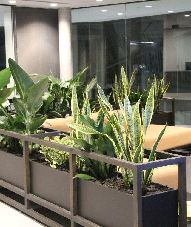 Seating Planter Unit
