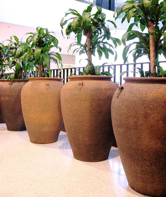 Large Commercial Planters