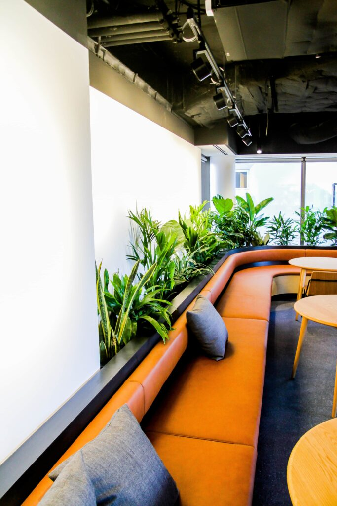 Mastercard Tech Hub and Innovation Centre - indoor plants